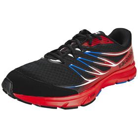 Salomon Sense Link Trailrunning Shoes Men black/bright red/union blue